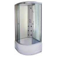 Dušo kabina R8601 pear-white 100x100 cm.