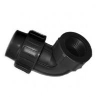 Alkūnė PE 20x1/2 vid. sr. juoda