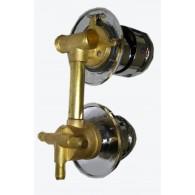 Perjungėjas vandens funkcijų 3 padėčių su antgaliais 10cm