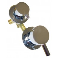 Perjungėjas vandens funkcijų 4 padėčių su sriegiais 10 cm